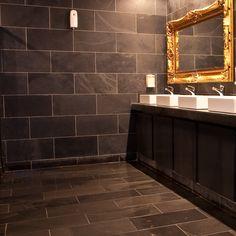 Calibrated Brazilian Black Riven Slate - Calibrated Black Slate Tiles from the UK's largest stockist Mrs Stone Store. Stone Bathroom, Bathroom Tiling, Bathrooms, Stone Store, Paving Slabs, Slate Flooring, Wall And Floor Tiles, Stone Tiles, Bathroom Inspiration