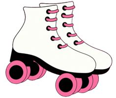 Roller Skate Clip Art For Invitations Roller Skating Party, Skate Party, Birthday Clips, Girl Birthday, Birthday Ideas, Birthday Parties, Roller Skate Cake, Roller Derby, Disco Party