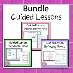 Guided lessons are motivating and self checking. Students are given direct instruction and then practice. Students receive instant feedback. Possible Uses.:--Supplemental activity--Centers or stations--Introduce or review the topic--Whole class instruction--Students may work independently on a computer--General Ed Class--AIS, resource, math lab etc--Flipped Learning. Simone's Math Resources
