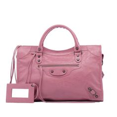 Balenciaga City Rose bruyere  #Balenciaga #Handbags....I love this purse, just the right size for me and I love the colour too....w.