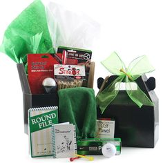 Golf Gift Basket - In the relentless pursuit of better golf, our Score Low gift basket arrives in a handy tote packed with an amazing assortment of golfing necessites. Bbq Gifts, Golf Gifts, Diy Birthday Gifts For Mom, Golf Ball Crafts, Cheap Golf, Baby On A Budget, Diy Gift Baskets, Gifts For Golfers, Girls Golf