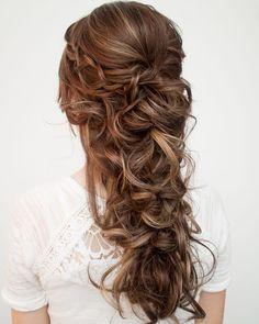 "4,956 Likes, 45 Comments - Hair and Makeup by Steph (@hairandmakeupbysteph) on Instagram: ""Pretty bridal hair. #hairandmakeupbysteph"""