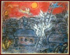 """""""Jacob's Ladder,"""" by Marc Chagall"""