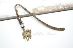 Metall - ✼ Kleines Pony ✼ Lesezeichen - ein Designerstück von LiAnn-Versand bei DaWanda