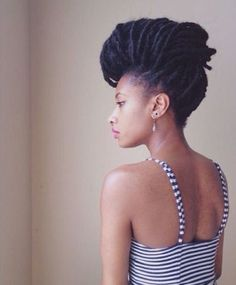 Easy and Gentle Updos for Locs   Curls Understood™