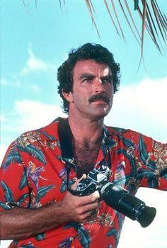 Tom Selleck as Magnum.
