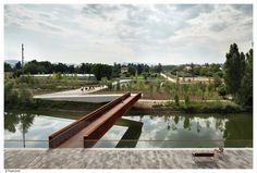 Pedestrian Bridge in Aranzadi Park / Peralta Ayesa Arquitectos + Opera ingeniería