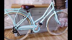 The beautiful mint colour adds to this elegant bike and helps to ensure sure you stand out from the crowd. The Pendleton Somerby Womens Hybrid Bike has a lig. Pendleton Bike, Mint Color, Bicycle, Ship, Bike, Bicycle Kick, Bicycles, Ships