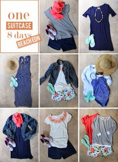in residence: mix & match suitcase, beach edition
