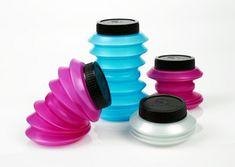 Aquatina é a mais nova garrafa reutilizável; Imagem Inhabitat