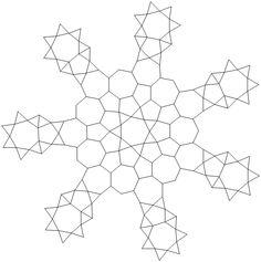 Heptagon Snowflake