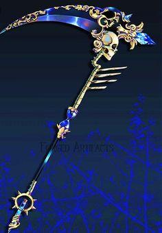 Fantasy Sword, Fantasy Weapons, Fantasy Art, Ninja Weapons, Anime Weapons, Armes Concept, Pretty Knives, Armas Ninja, Elemental Magic