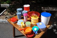 Vintage Tupperware, most ever used!