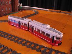 """tram Gustotram """"2823"""" Schaal: 1:36 Bouwjaar: 2013 Aantal stukjes: 850 ca."""