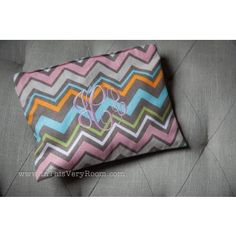 Chevron Large Cosmetic Bag - Very Classy!