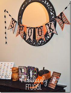 Fall Banners DIY