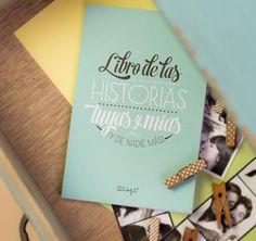 Regalo para parejas. Libro de las historias tuyas y mías. http://sorpresasparatupareja.com/2015/07/22/libro-de-las-historias-tuyas-y-mias/