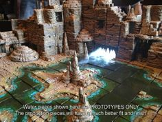 Dwarven Forge's Caverns-Dwarvenite Game Tiles Terrain by Dwarven Forge — Kickstarter
