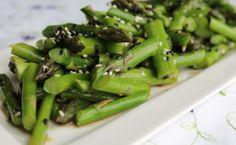 Sesame Asparagus Salad  @Zenbelly Foods & Catering