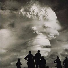 Hauntingly powerful image of atomic bomb testing in New Mexico on July 16, 1945 ~Instagram photo by @republicofyou (republicofyou) | Statigram