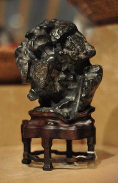 Scholar's Rock sourced by Kemin Hu #HomeDecor #China #Nature