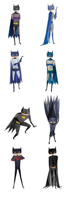 Batman | History by Esmeralda Garcia, via Behance