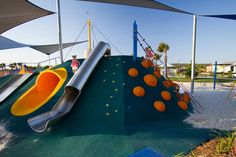 Commercial Playground Design | Blue Park - Bells Reach | Urban Play