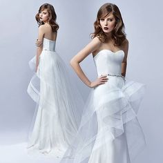 Looking so #haute with @enzoani . #tagabride that would love this gown! #Enzoani