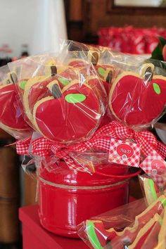 Biscoitinhos de maçã . (Foto: Divulgação)