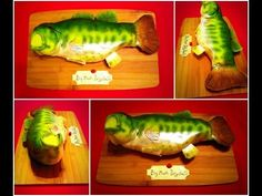 Big Mouth Billy Bass cake - YouTube