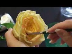 Керамическая флористика. Мастер-класс по керамической флористике - Роза