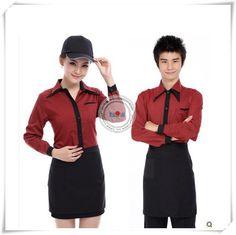 hotel uniform for waiters