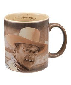 Love this John Wayne 'Fine Morning' Mug by John Wayne on #zulily! #zulilyfinds