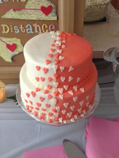 Best bridal shower cake! Love this idea!!!