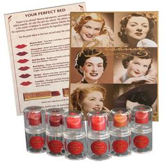 $8.00 Besame Vintage-inspired Lipstick Sampler set. This would probably last me 5+ years, but love it.