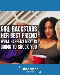 Girl Backstabs Her Best Friend, What Happens Next Is Going To Shock You | Dhar Mann. Just because they hug you, doesn't mean they love you. For more motivational videos, visit DharMann.com #DharMann Social Media Company, Hello Ladies, Show Video, Steve Harvey, Im Not Okay, Motivational Videos, Another Man, Hug You, Hey Girl