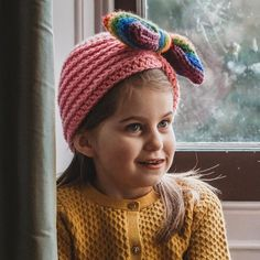 Garden Variety Cloche with Bow Applique - Cris Crochet Shop Flower Applique, Daughter Love, Hat Making, Be My Valentine, Beret, Crochet Flowers, Gifts For Kids, Gift Guide, Crochet Patterns