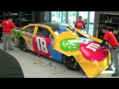 Cool Toyota Camry 2017: Total Elapsed time: 1 hour and 40 min.    See how Kyle Busch's 2013 NASCAR T...