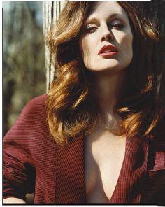 Julianne Moore photographed by Alasdair McLellan.