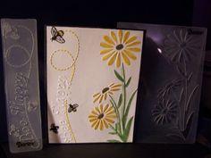 Darice-embossing-folder-A2-BORDER-DAISIES-BEE-HAPPY-BORDER-U-GET-BOTH