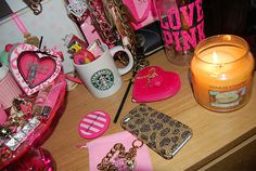 This is what my desk will look like in my college dorm<3