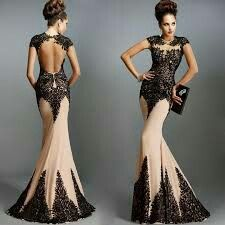 Choose dress for special occasion..  You will look like a princess..