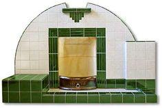 Adelphi 1920s style asymmetrical fireplace