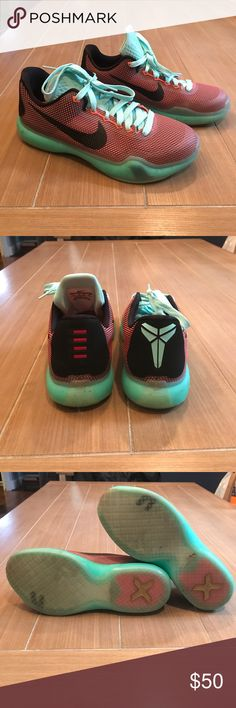 new product da7ae a0353 Kobe 10 Easter Sneakers Sz Kobe Bryant 10 Easter Sneakers Sz Men s or youth  or Women s Sz 8 — most comfortable shoe! Light teal, orange and black in  color.