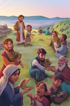 ArtStation - World Vision Easter Storybook Card, Ian Dale Bible Pictures, Jesus Pictures, Bible Crafts, Bible Art, Jesus Artwork, Spiritual Pictures, Christian Pictures, Bible Illustrations, Bible For Kids