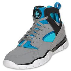 """""""Hurache's are the most comfortable shoe - aqua blue with gray, one of my favorites""""    The Nike Huarache 2012 Men's Basketball Shoes are styled for the court. The basketball shoes have the same Huarache neoprene upper and TPU support cage. The shoes are put on Nike Free inspired tooling with a deep multi-directional flex outsole."""