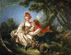 Boucher The Four Seasons Autumn 1755 Canvas Art Print by TOPofART, $56.76
