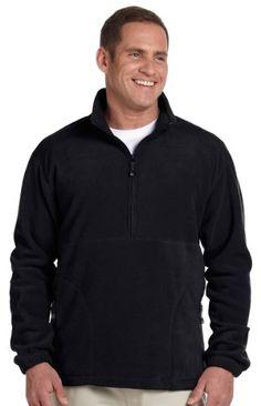 717c58d309d Devon   Jones Men s Wintercept Quarter-zip Fleece Jacket. Color  Black.  Black