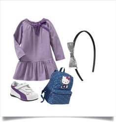 """Kindergarten Girl Outfit - Old Navy Sale"" by coolmompicks ❤ liked on Polyvore"