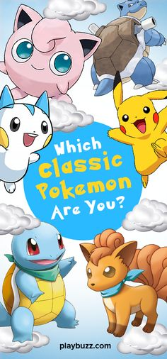 Take a break from Catching Them All - and find out which classic PKMN fits your fighting spirit! Are you an adorable starter or a seasoned death machine? Find out now!